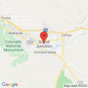 Grand Junction map