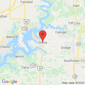 Grove map