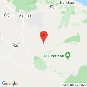 Hawaii: The Big Island map