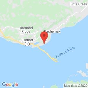 Homer Boat Yard map