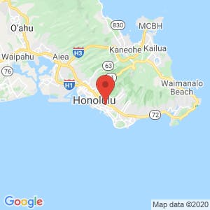 Honolulu Self Storage map