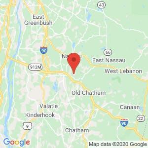 Hudson Valley Storage map