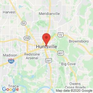 Huntsville map