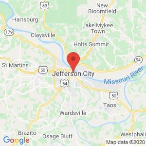 Jefferson City map
