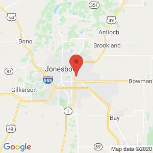 Jonesboro U Storage map