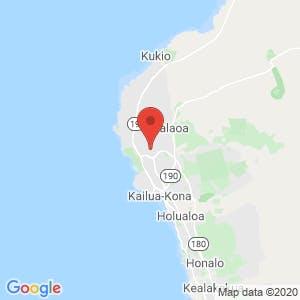 Kailua-Kona Self Storage – Hulikoa Drive map