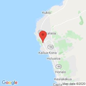 Kailua-Kona Self Storage – Lawehana Street map