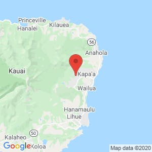 Kauai Car Storage map