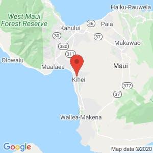 Kihei Self Storage map