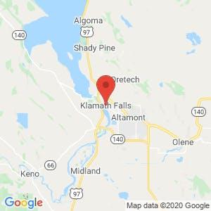 Klamath Falls map