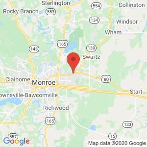 Lakeshore Storage map