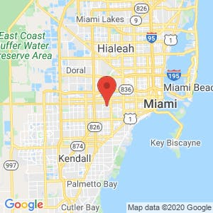 Miami/ West map