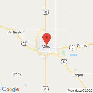 Minot map