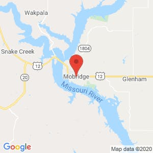 Mobridge map