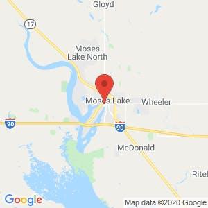 Moses Lake map