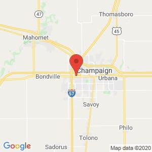 Prime Storage – Champaign West map