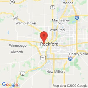 Rockford Vehicle Storage map