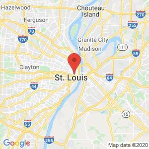 Saint Louis map