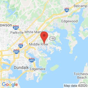 Self Storage Plus – Middle River map