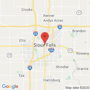 Sioux Falls map