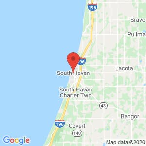 South Haven map