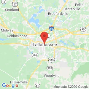 Tallahassee map