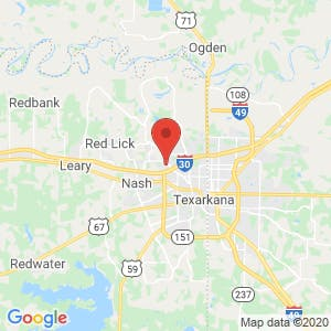 Texarkana National Storage map