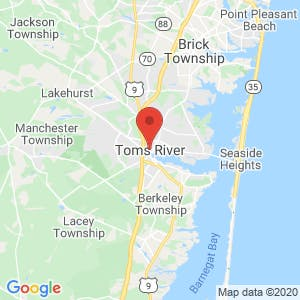 Toms River map