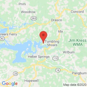 Tumbling Shoals Boat and RV Storage map