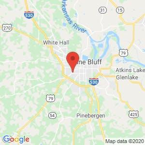 U-Haul Moving & Storage of Pine Bluff map