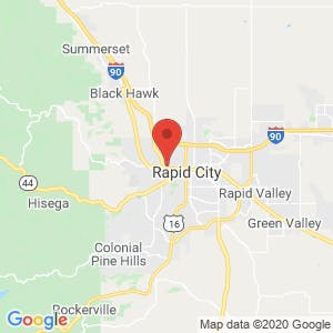 U-Haul Moving & Storage of Rapid City map
