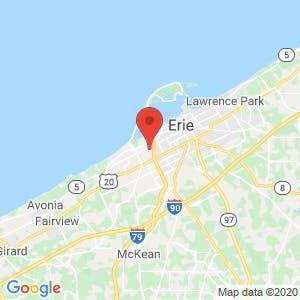 U-Haul Moving & Storage of Westside Erie map