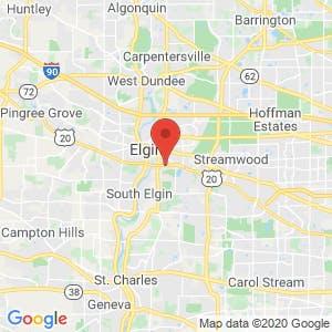 U-Haul Storage of East Elgin map