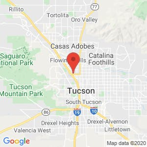 U-Stor in Miracle Mile, Tucson map