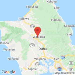 Wahiawa Self Storage map