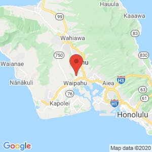 Waikele Self Storage map