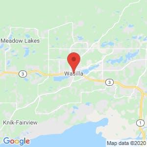 Wasilla map