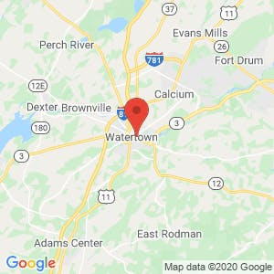 Watertown Patriot Storage and Rentals map