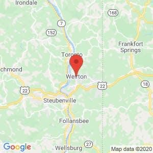 Weirton map