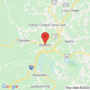 Weston map