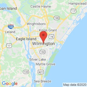 Wilmington map