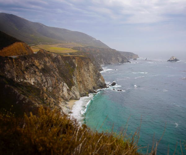California Coastline - Great for beach camping and RV'ing