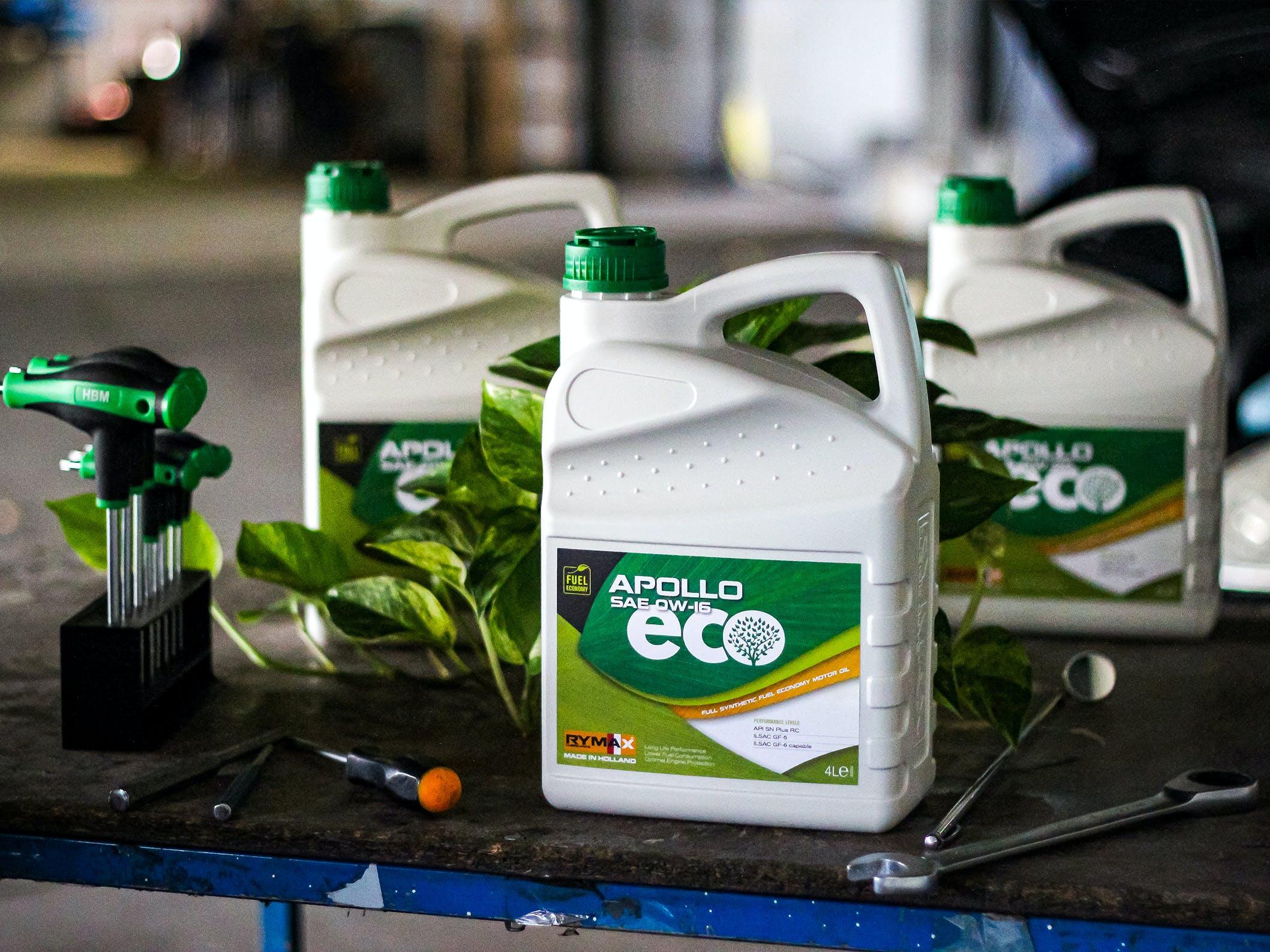 Rymax Lubricants présente la gamme Apollo ECO. dans - - - Actualité lubrifiants automobiles