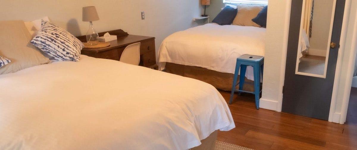 saatva mattress in smiley's saloon and hotel