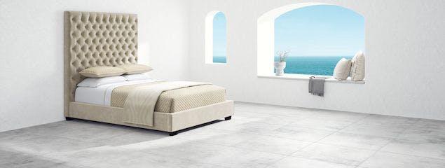 Saatva's Marbella bed frame