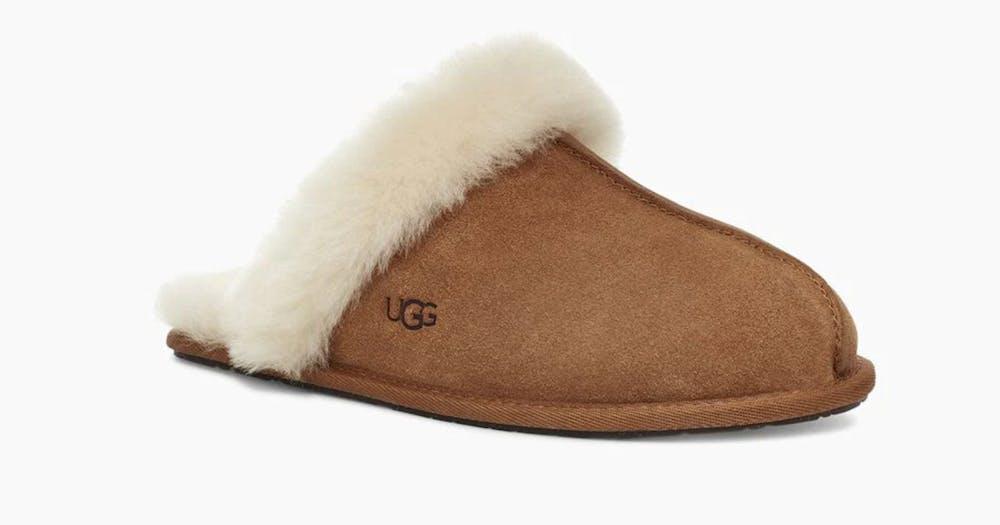 brown ugg slipper