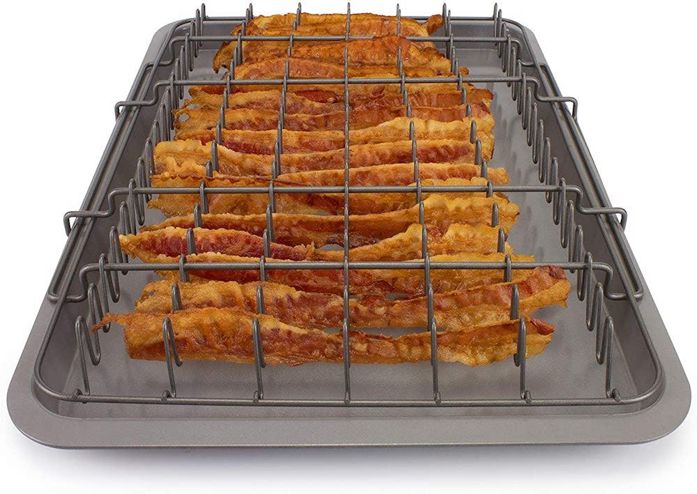 EaZy Meal Bacon Rack and Tray