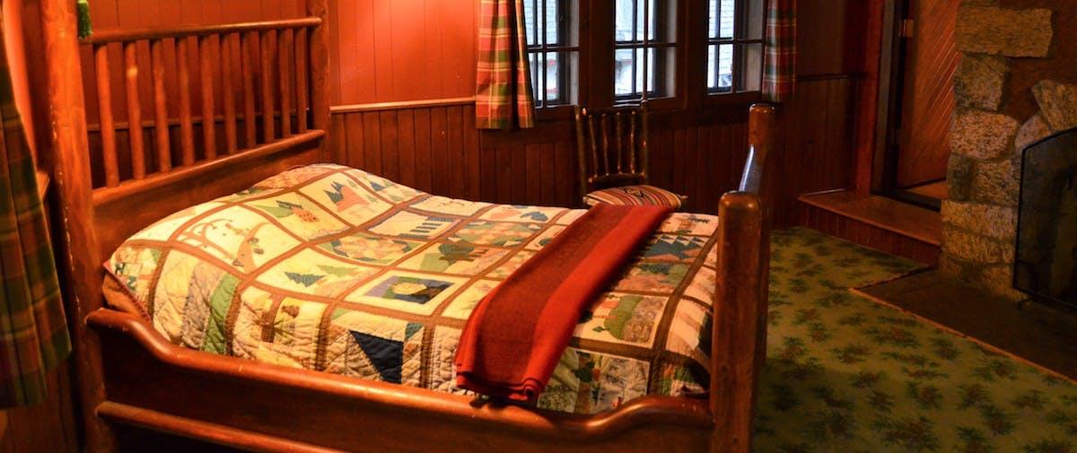 saatva mattress in great camp sagamore hotel