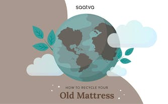image of earth showing how to recycle old mattress