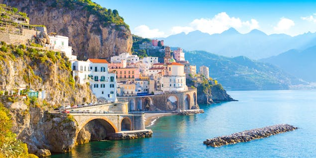 View of Amalfi Coast
